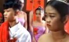 Chinesa grávida, de 13 anos, casa-se com jovem, também de 13 Foto: Reprodução