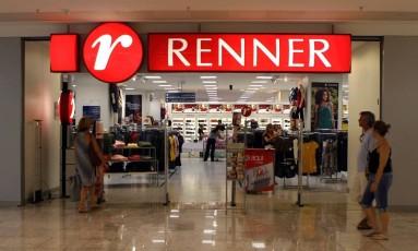 Loja Renner no Shopping Tijuca, no Rio de Janeiro Foto: Hudson Pontes / Agência O Globo