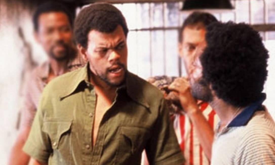 Na época do filme: Alexandre da Silva Santana, conhecido por Babu Santana, viveu o traficante Grande Foto: Reprodução