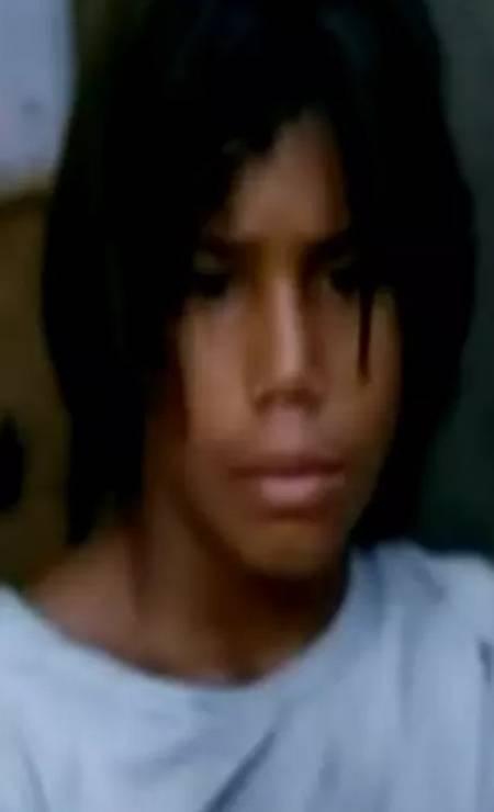 Na época do filme: Micael Borges, também conhecido como Mika, fez o personagem Caixa Baixa Foto: Reprodução