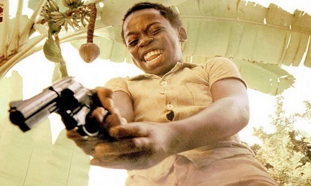 Na época do filme: Douglas Silva interpretou Zé Pequeno Foto: Reprodução