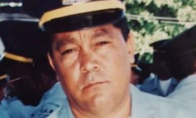 Policial militar reformado, Jair Ursulino Pimentel, tio do sargento Hudson de Araújo, morto no Vidigal, também foi assassinado com um tiro no peito e deixou dois adolescentes Foto: Álbum de família