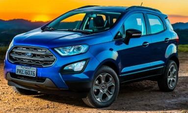 A dianteira ganhou a identidade utilizada pela Ford nos novos lançamentos da marca Foto: Pedro Bicudo / Divulgação