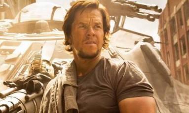 Mark Wahlberg em 'Transformers' Foto: Divulgação