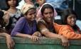 Mulheres rohingyas vivem drama duplo: apátridas, ainda sofrem com estupros por violações de soldados