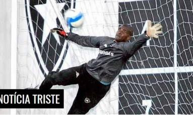 Morte de Max foi lamentada pelo Botafogo Foto: Reprodução
