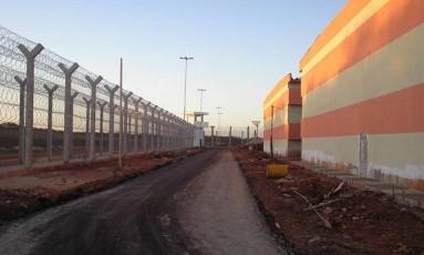 Área interna do presídio federal de Mossoró, no Rio Grande do Norte Foto: Divulgação/Governo do Rn