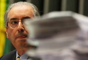 O ex-presidente da Câmara dos Deputados Eduardo Cunha (PMDB-RJ) Foto: Aílton de Freitas/Agência O Globo/03-02-2016