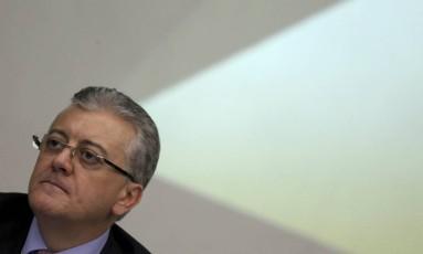 Entrevista coletiva da diretoria da Petrobras sobre a apresentação dos resultados de 2014 Foto: Marcelo Carnaval / O Globo