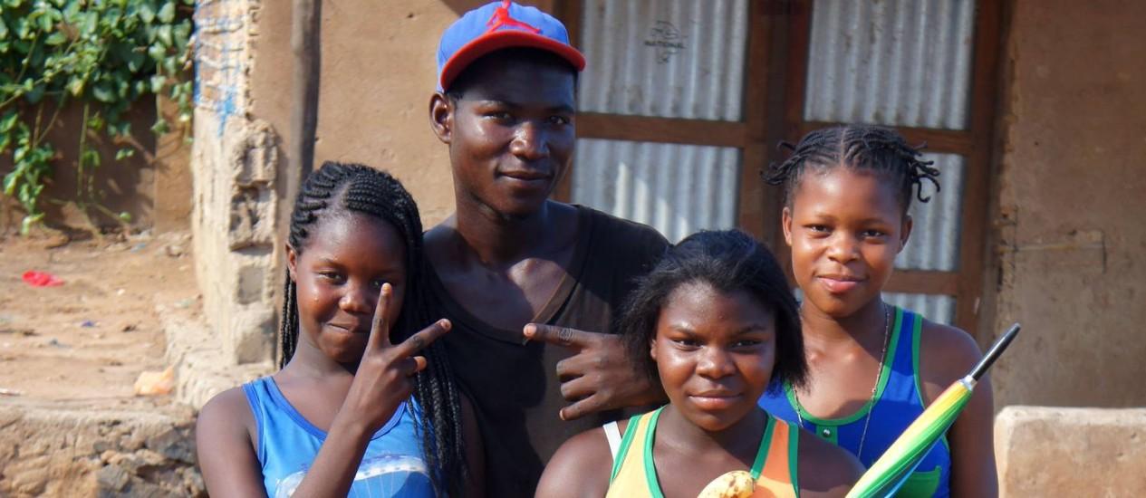 A simpatia é um traço comum entre os habitantes de Moçambique Foto: Daniela Chindler