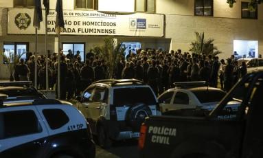 Divisão de Homicídios comemorou 48 sem assassinatos na Baixada Fluminense Foto: Alexandre Cassiano / Agência O Globo
