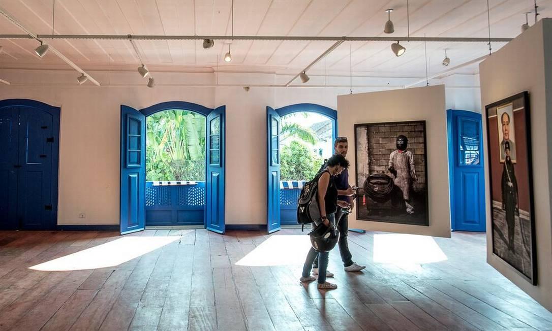 Exposição de fotos da mostra Paraty em Foco Foto: / Divugação/Nereu Jr.