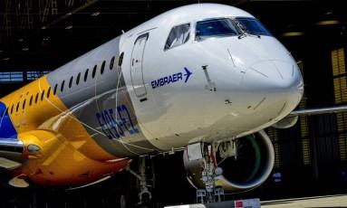 Novo jato da Embraer: empresa voltou ao lucro Foto: Lucas Lacaz Ruiz/7-3-2017