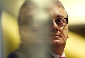 Aldemir Bendine: Ex-presidente da Petrobras e do Banco do Brasil foi preso na 42ª fase da Lava-Jato, batizada de Operação Cobra Foto: Sergio Moraes / REUTERS
