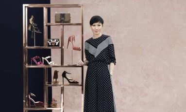 Sandra Choi, sobrinha do sapateiro Jimmy Choo e diretora-criativa da marca Foto: Divulgação