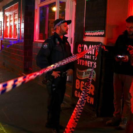 Ruas foram fechadas durante operação da polícia em Sifney Foto: DAVID GRAY / REUTERS