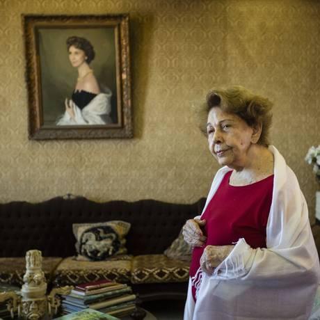 Sigilo quebrado. Dados da conta da aposentada Rachel Nigri foram repassados indevidamente por banco a uma empresa de seguros Foto: Fernando Lemos / Fernando lemos