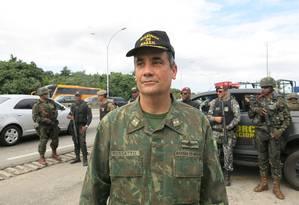Roberto Rossatto, Chefe do Estado Maior Conjunto das Forças Armadas Foto: Simone Candida / Agência O Globo