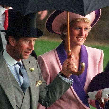 Princesa Diana e príncipe Charles em junho de 1990 Foto: Martin Hayhow / AP