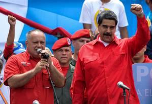 Odebrecht pagou US$ 50 milhões de caixa dois nas campanhas de Nicolás Maduro Foto: Federico Parra / AFP / 27-7-17