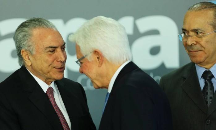 PF: Michel Temer recebeu R$ 31 milhões por prática criminosa