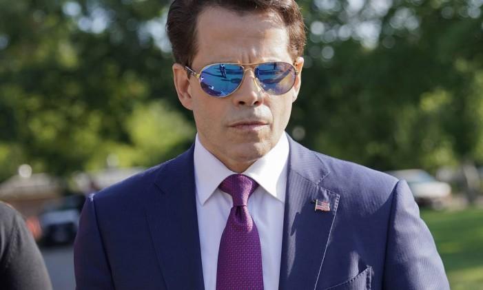 O diretor de comunicações da Casa Branca, Anthony Scaramucci Foto: Pablo Martinez Monsivais / AP