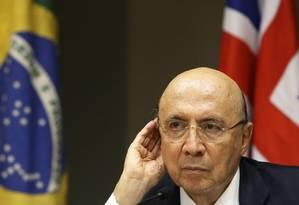 O ministro da Fazenda, Henrique Meirelles Foto: Ailton de Freitas / Agência O Globo