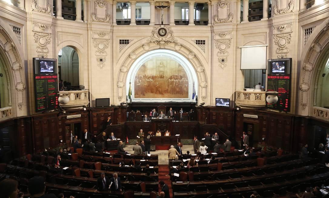 Ano legisslativo recomeça nesta quarta-feira. Imagem de 29/06/2017 Foto: Gustavo Miranda / Agência O Globo
