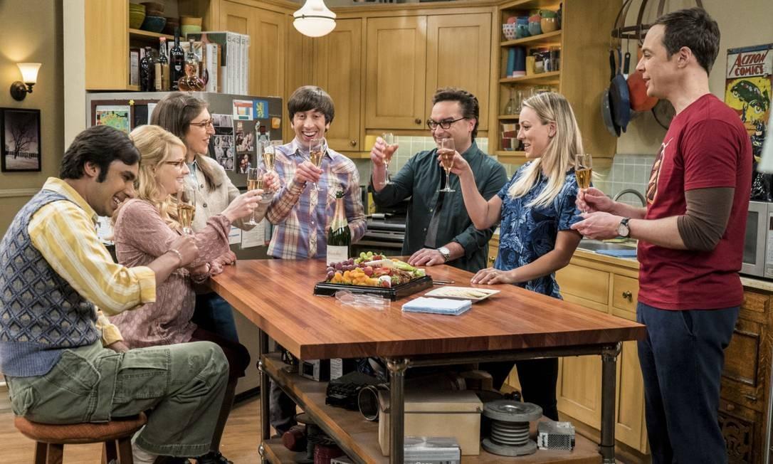 Cena de 'The Big Bang Theory' Foto: Divulgação