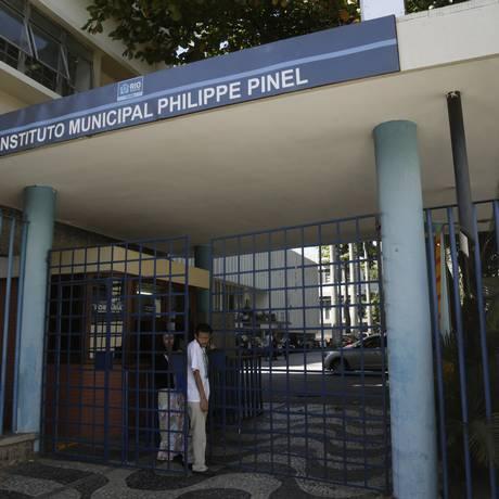 Emergência do Pinel, em Botafogo, foi fechada Foto: Gabriel de Paiva / Agência O Globo