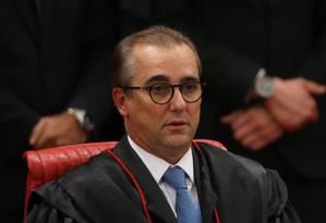 O ministro Admar Gonzaga, do Tribunal Superior Eleitoral Foto: Ailton de Freitas / Agência O Globo/09-06-2017