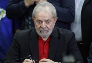 Lula cumpre agenda como candidato Foto: Agência O Globo / Edilson Dantas