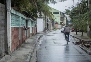 Comunidade Novo Palmares Foto: Analice Paron / Agência O Globo