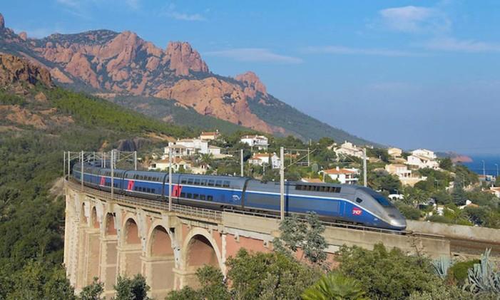 TGV liga Barcelona a Paris em 6h25. Foto: Reprodução da internet