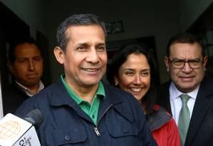 O ex-presidente peruano Ollanta Humala Foto: GUADALUPE PARDO / REUTERS