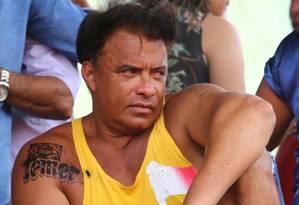 O deputado Wladimir Costa e sua tatuagem Foto: Divulgação