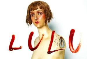 Capa do disco Lulu, de Metallica e Lou Reed Foto: Reprodução