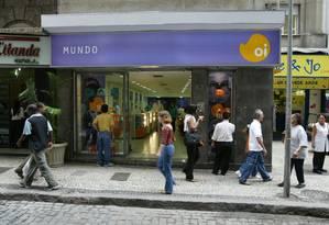 Oi lidera o ranking de empresas em recuperação judicial Foto: Fábio Guimarães