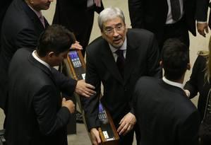 O ministro Antônio Imbassahy (Secretaria de Governo), também deputado, se licenciou para votar contra abertura da investigação Foto: Givaldo Barbosa / Agência O Globo
