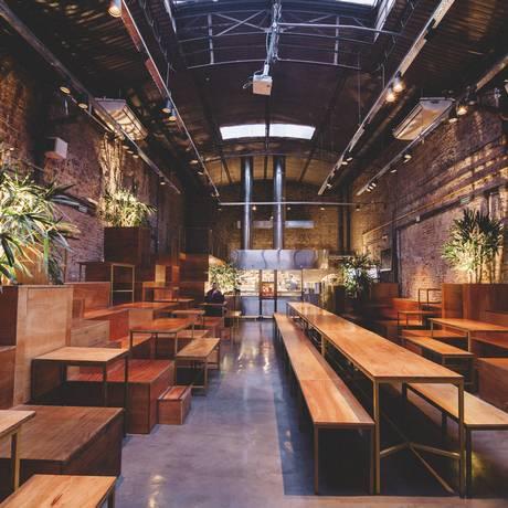 O salão do restaurante marroquino Tetuán, em Palermo, Buenos Aires. Foto: Francisco Iurcovic / Divulgação