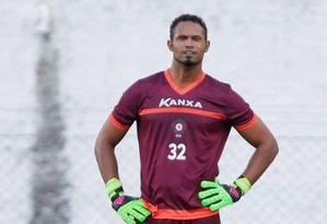 Goleiro Bruno no período que jogou por um time em Minas Gerais Foto: Marcos Alves / Agência O Globo