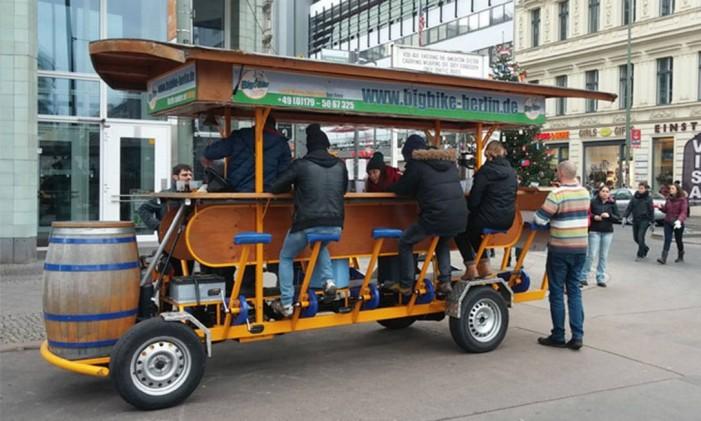 Big Bike Berlin, em Berlim, Alemanha Foto: Big Bike Berlin / Divulgação