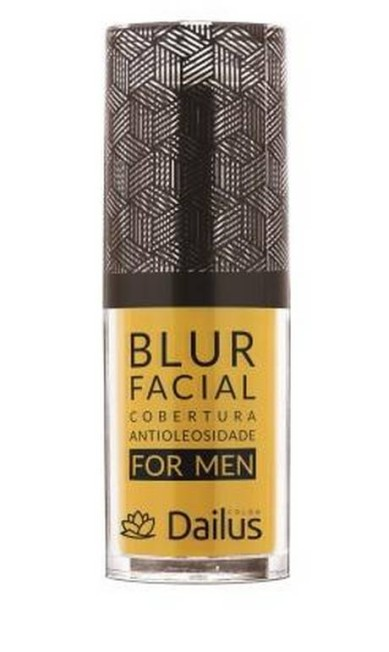 Primer Blur facial for men da Dailus (sac@dailus.com.br), R$ 27,58: transparente, o produto é ideal para evitar o brilho nas regiões com excesso de oleosidade, como testa, nariz e queixo Divulgação