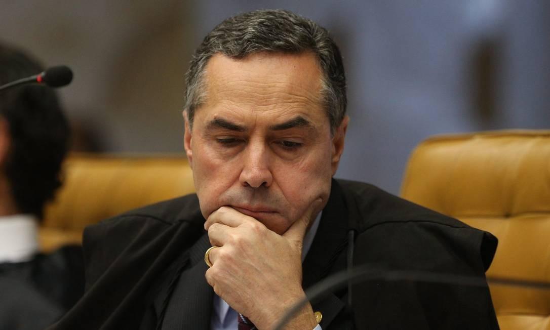 O ministro Luis Roberto Barroso, do Supremo Tribunal Federal (STF) Foto: André Coelho / Agência O Globo / 1-6-17