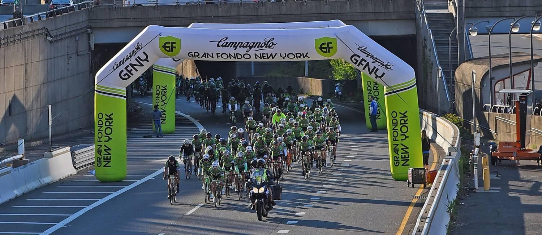 Etapa do Gran Fondo em Nova York Foto: SportoGraf/Divulgação / SportoGraf/Divulgação