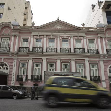 Fachada do hotel Vila Galé Rio, na Lapa: retração no segmento corporativo Foto: Alexandre Cassiano / Agência O Globo