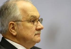 O ministro do STF e relator da Lava Jato, Edson Fachin Foto: Jorge William / Agência O Globo