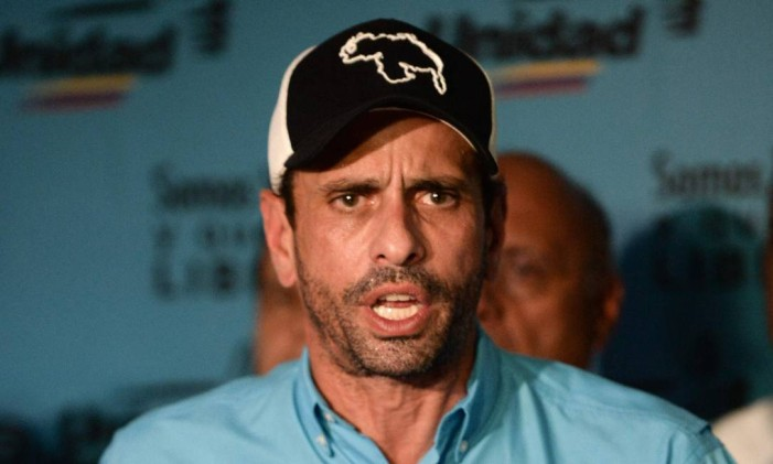 Henrique Capriles Foto: FEDERICO PARRA / AFP