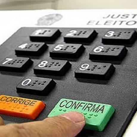 Eleitores votaram das 8h às 17h do horário local Foto: TSE/Divulgação