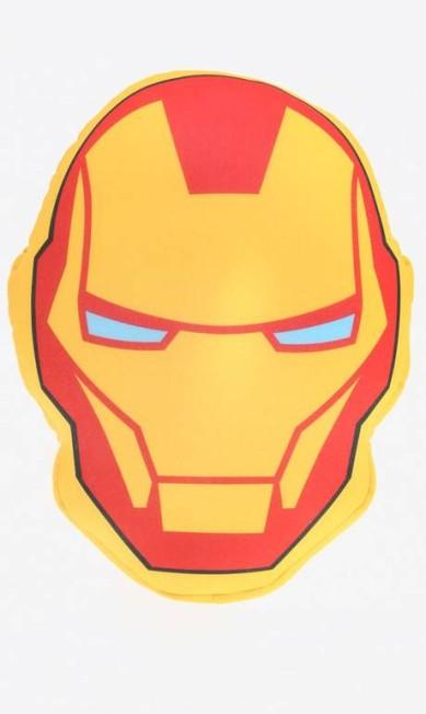 Almofada Homem de Ferro Vingadores (35 x 5 cm) Riachuelo Moda Casa (www.riachuelo.com.br), R$ 35,90 Divulgação